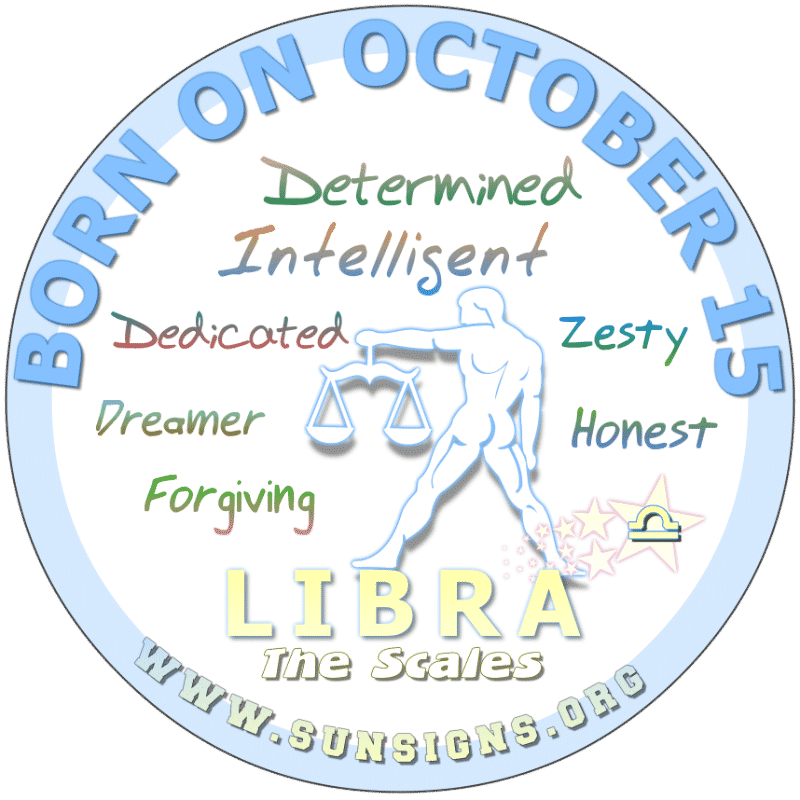 October 15 Birthday Horoscope Personality