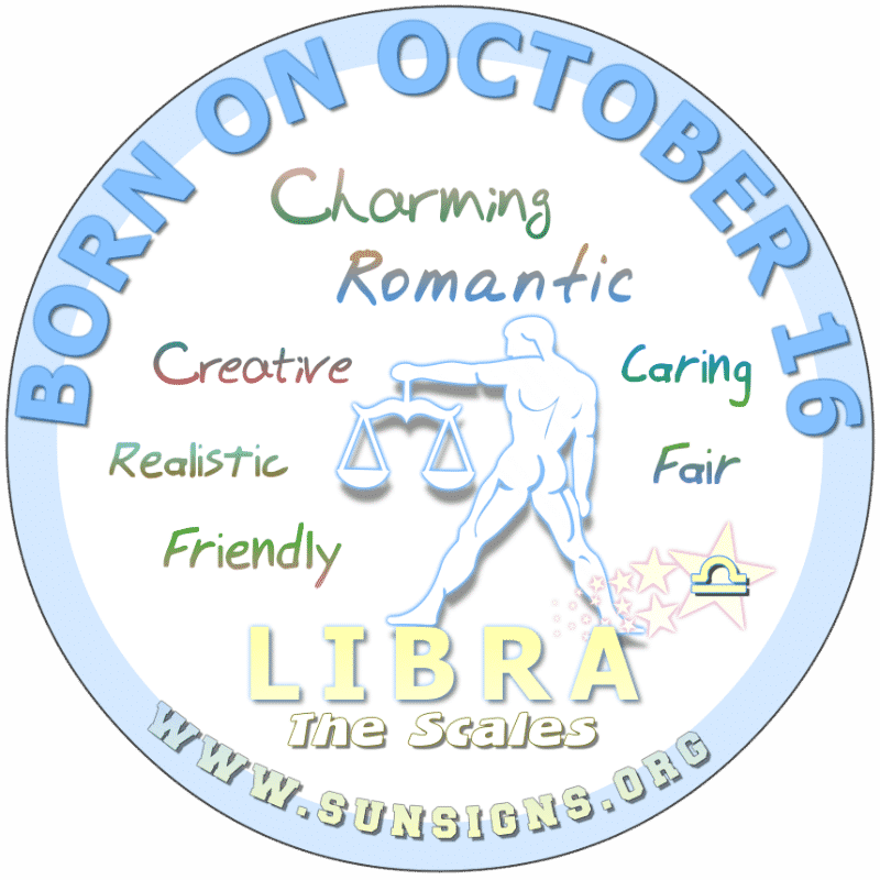 October 16 Birthday Horoscope Personality