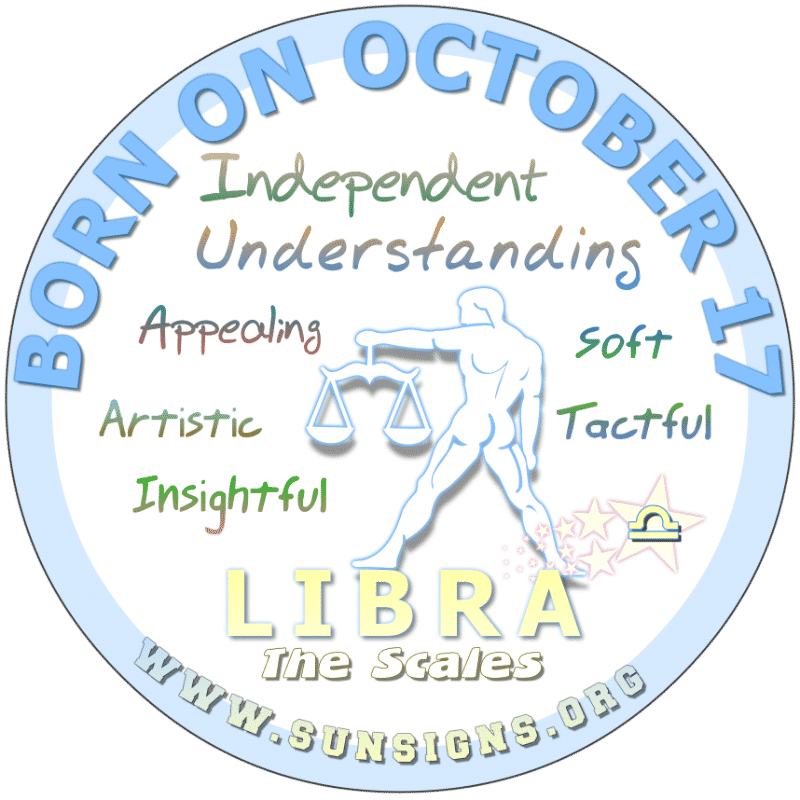 October 17 Birthday Horoscope Personality