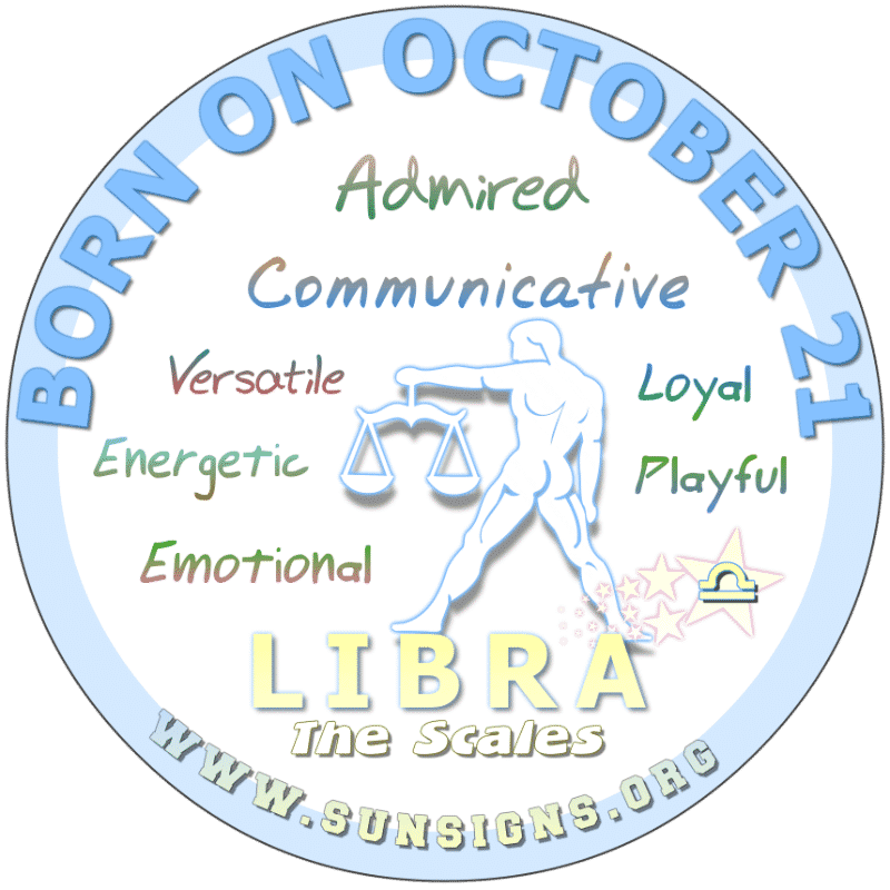 October 21 Birthday Horoscope Personality