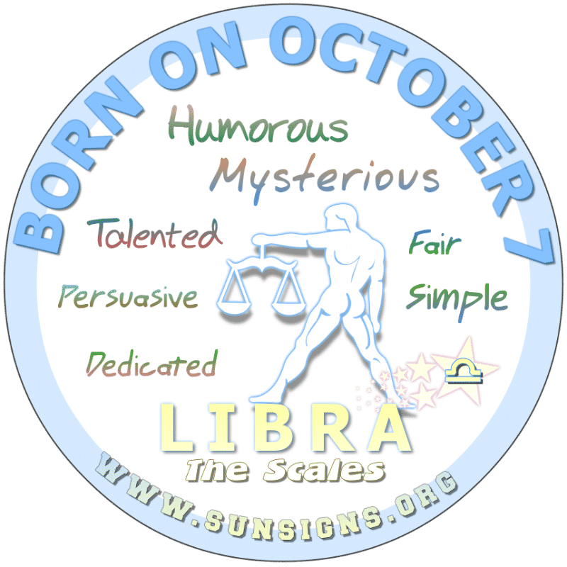 October 7 Birthday Horoscope Personality