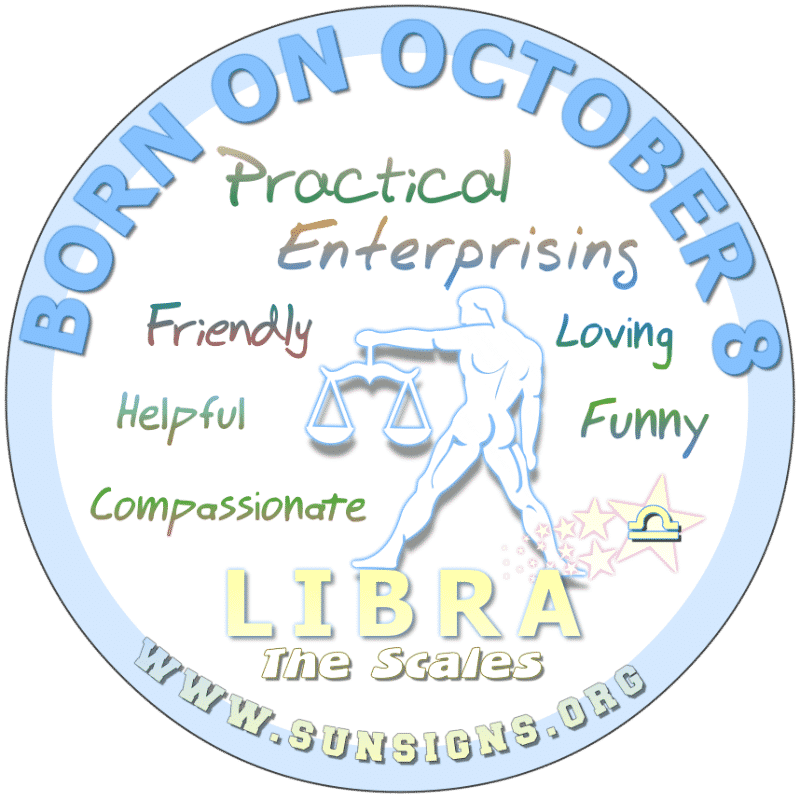 October 8 Birthday Horoscope Personality
