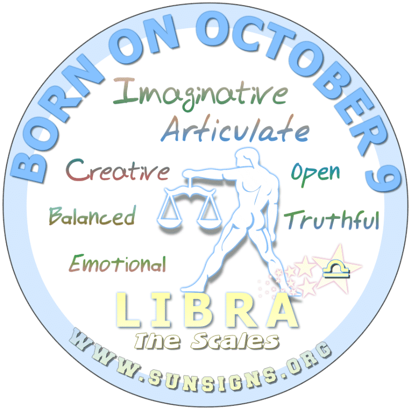 October 9 Birthday Horoscope Personality