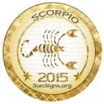 2015 Scorpio Horoscope