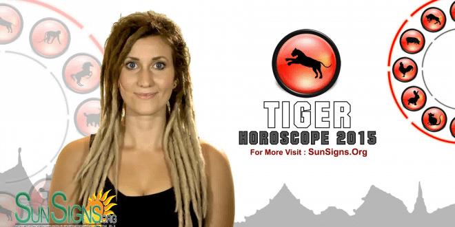 Tiger 2015 Horoscope