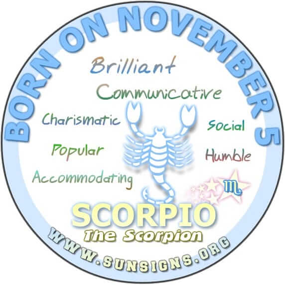 november 5 birthday horoscope personality sun signs. Black Bedroom Furniture Sets. Home Design Ideas