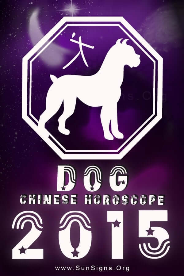 This is a year of joy and happiness for the Chinese dog horoscope sign.