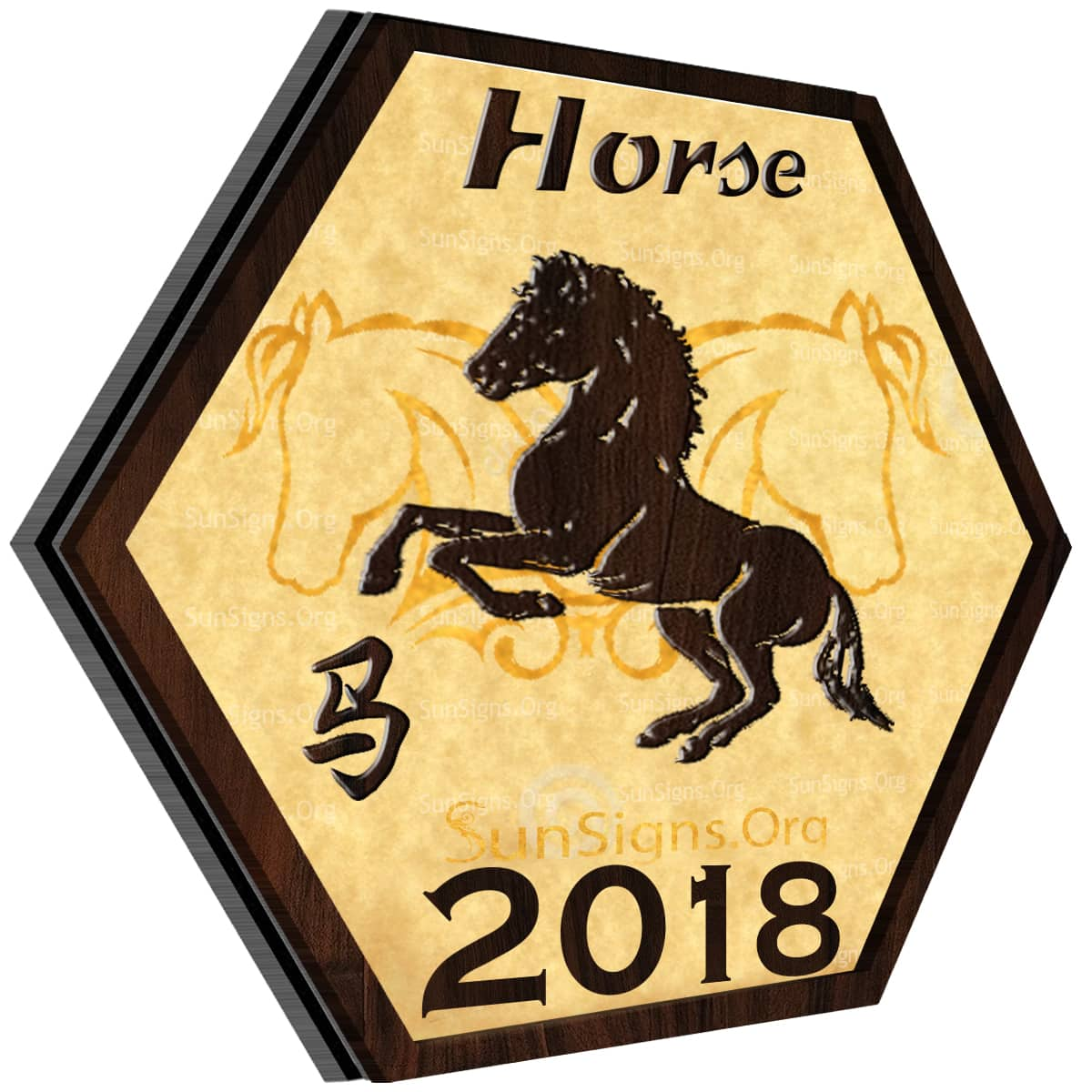 Horse Horoscope 2018