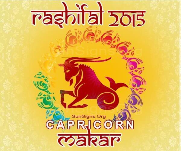 Makar Rashi 2015 Horoscope: An Overview – A Look at the Year Ahead, Love, Career, Finance, Health, Family, Travel