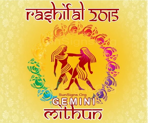 Mithun Rashi 2015 Horoscope: An Overview – A Look at the Year Ahead, Love, Career, Finance, Health, Family, Travel