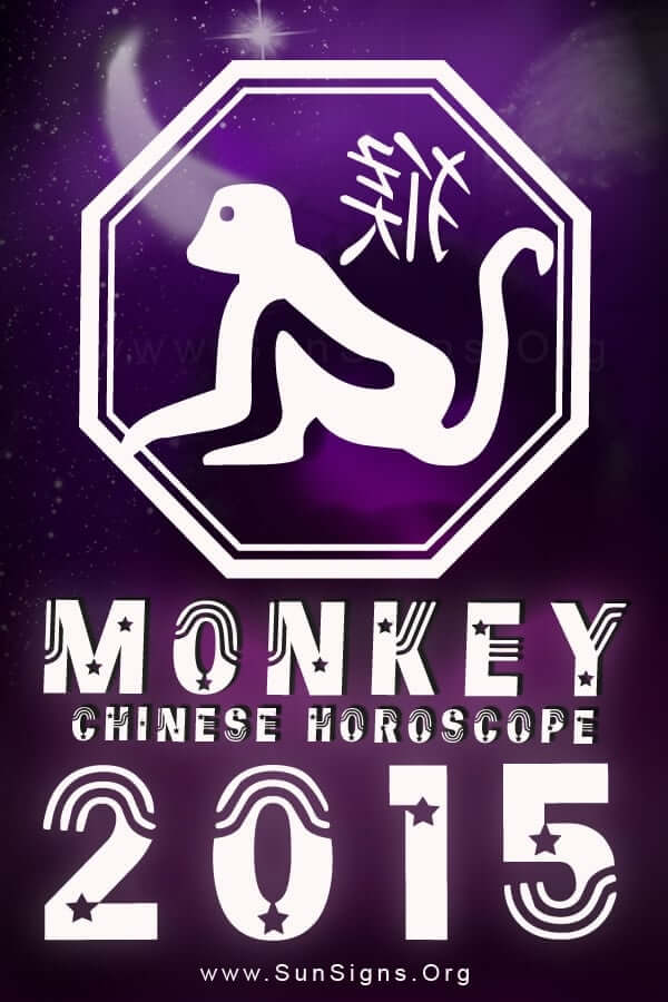 The Chinese zodiac 2015 forecasts for the monkey show that this year will constructive and blessed.