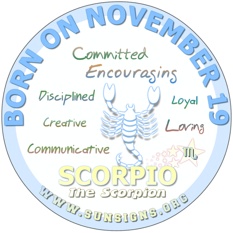 scorpio weekly horoscope for november 19 2019