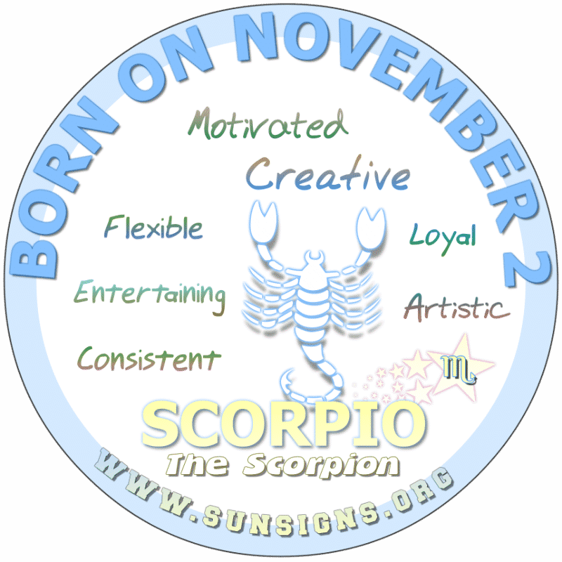 december 2 birthday astrology scorpio