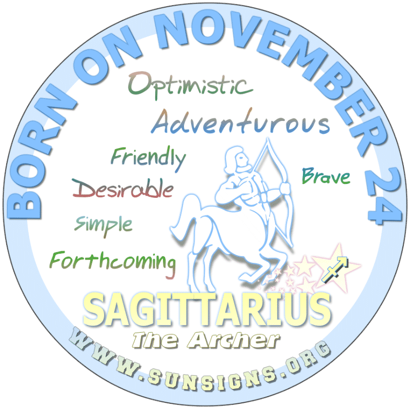 november 24 zodiac sign sagittarius