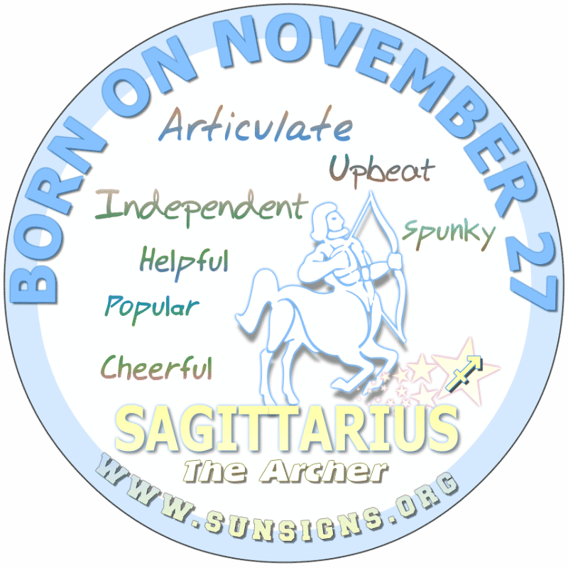 november 27 zodiac sign sagittarius