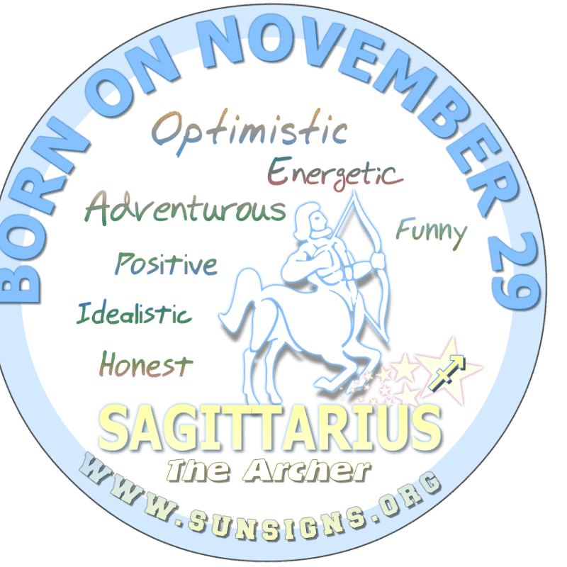 november 29 zodiac sign sagittarius