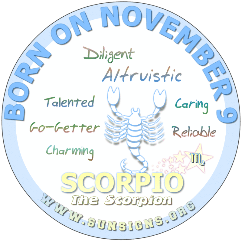 November Birthday Horoscope Astrology (In Pictures