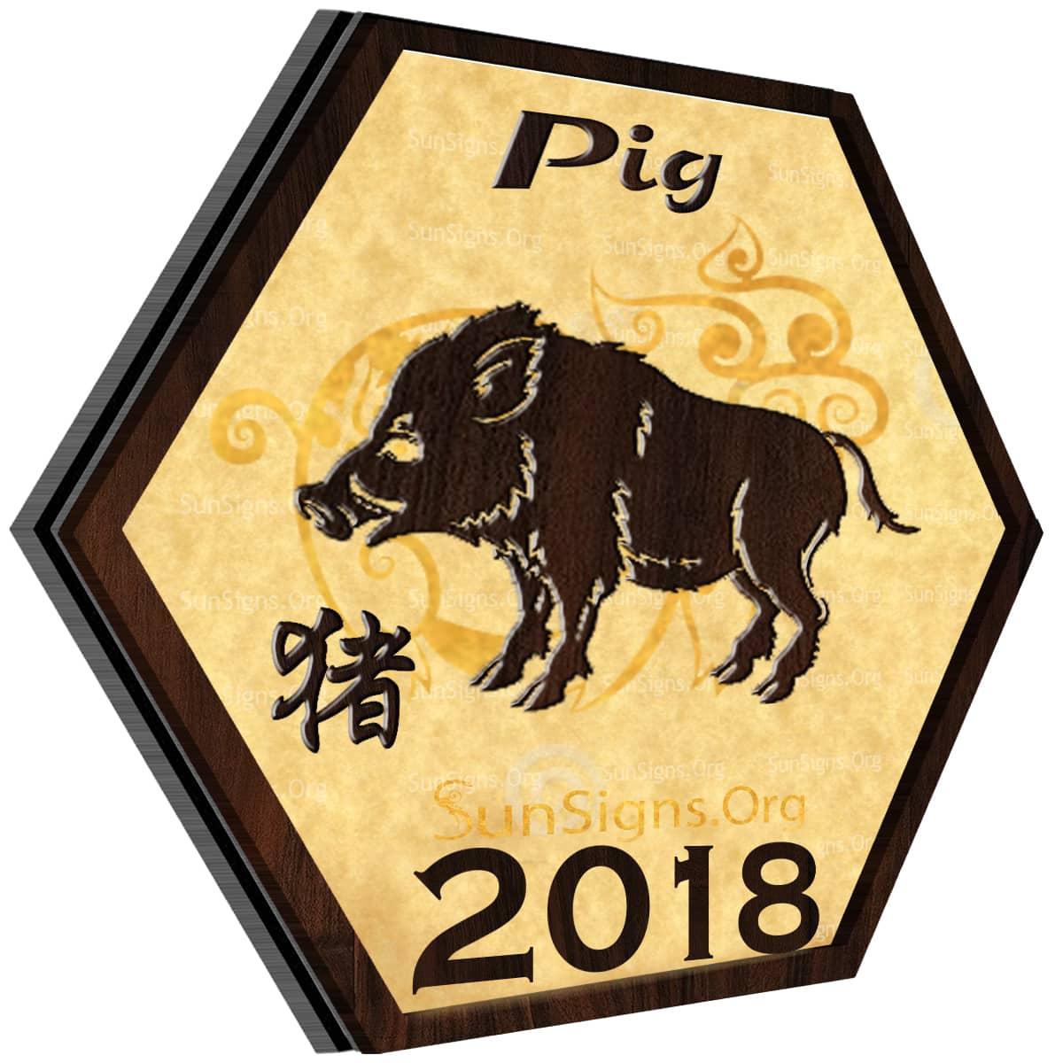 Pig Horoscope 2018