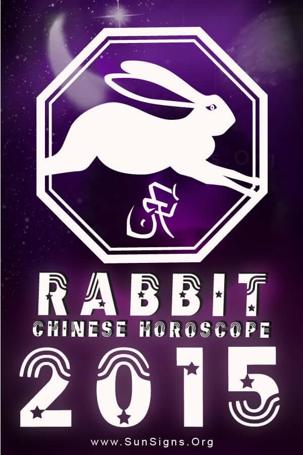 The 2015 Rabbit astrology predictions foretell an auspicious and favorable year.
