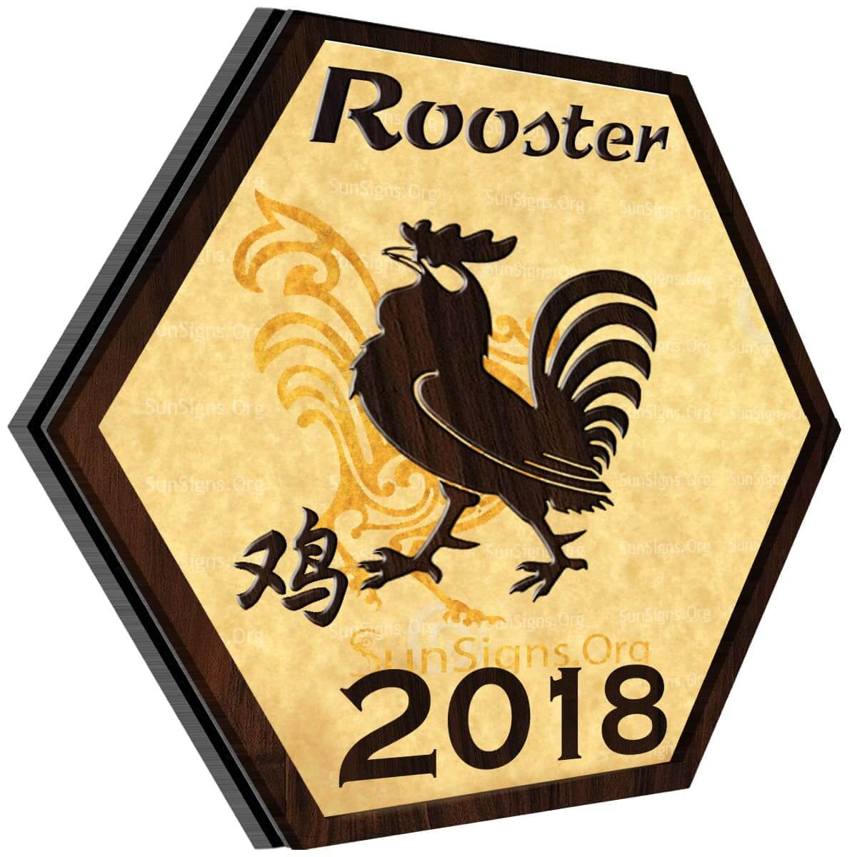 Rooster Horoscope 2018