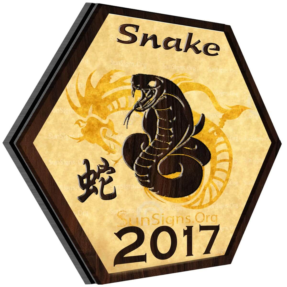 Snake Horoscope 2017
