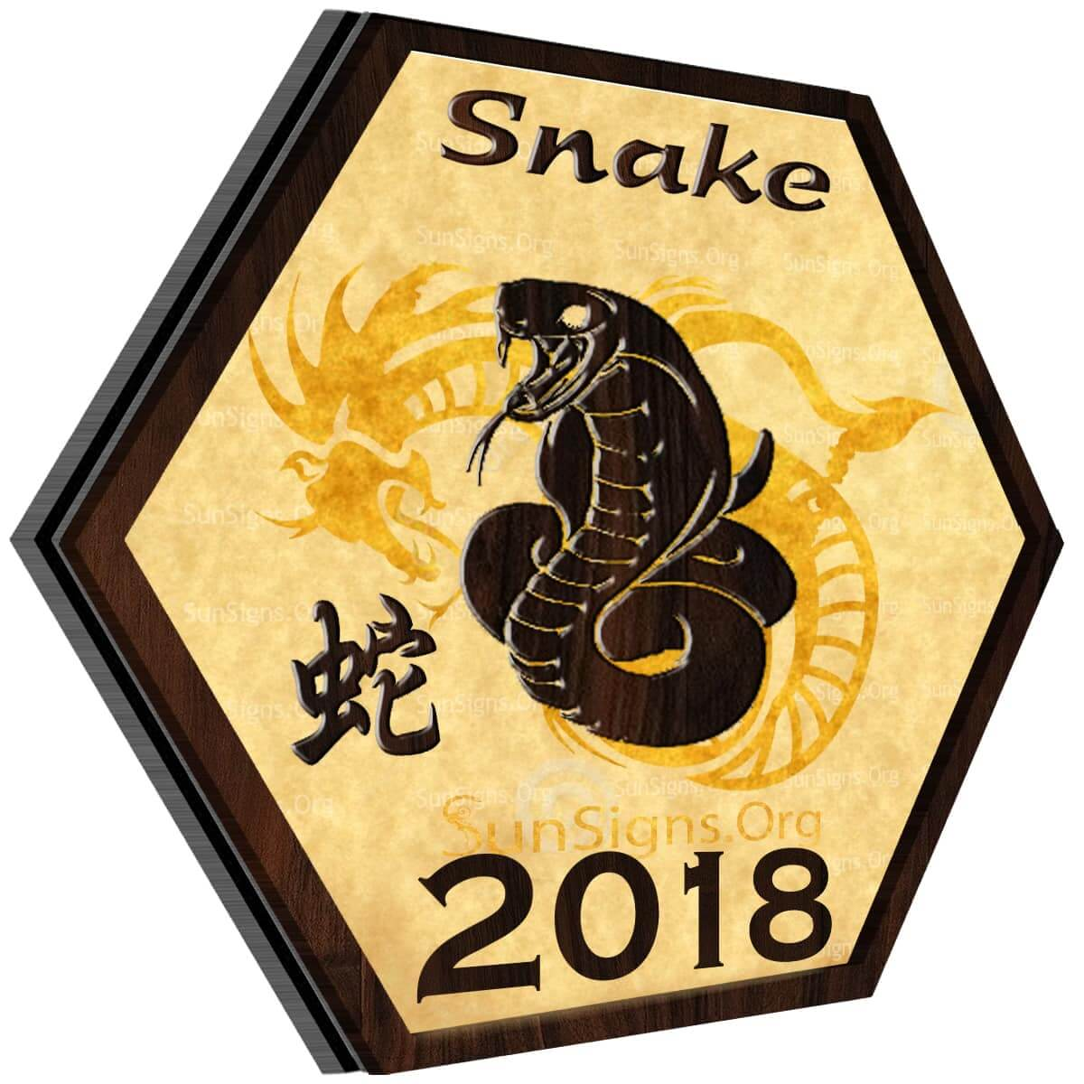 Snake Horoscope 2018