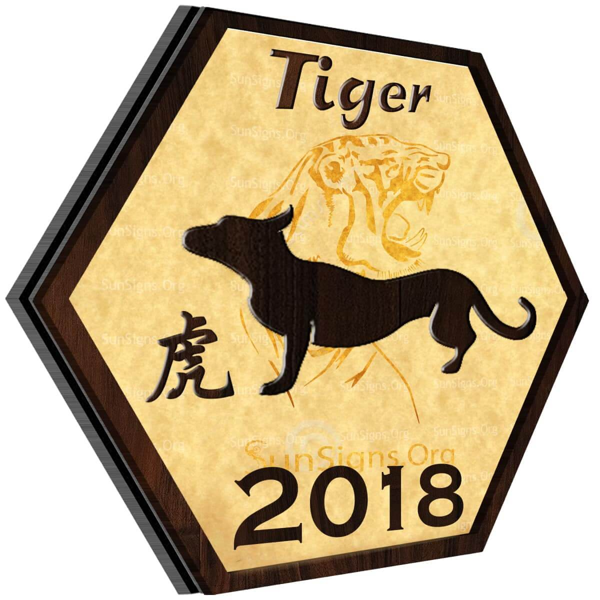Tiger Horoscope 2018