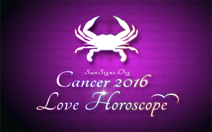 2016 cancer love horoscope
