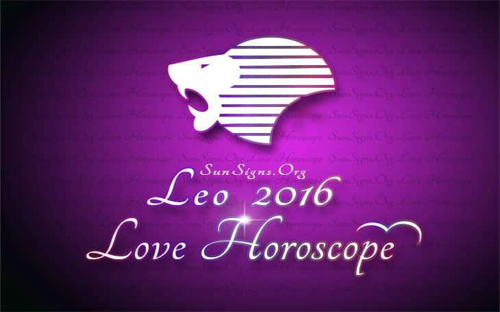 2016 leo love horoscope