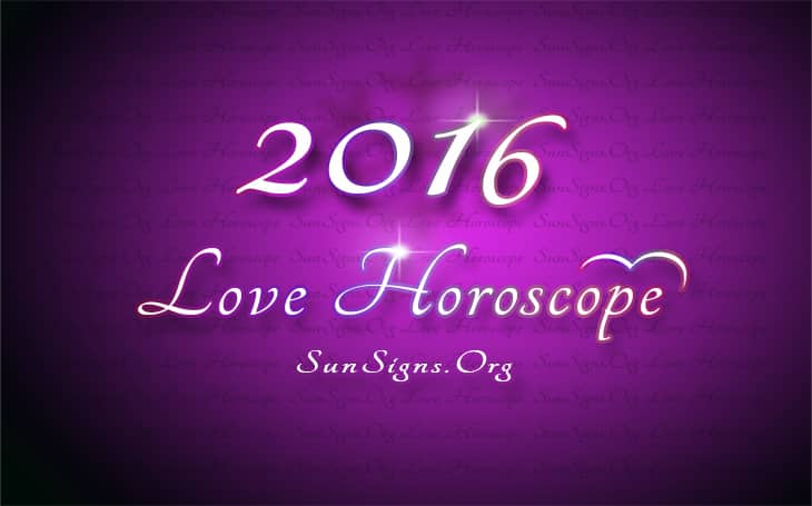 2016 love horoscope