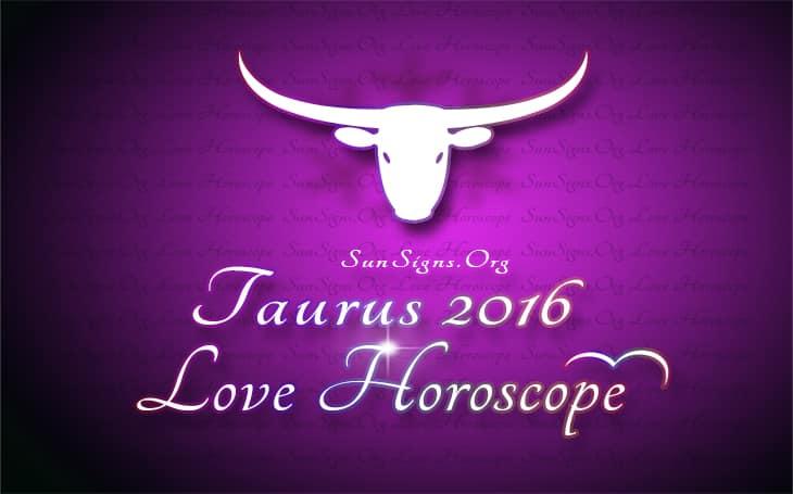2016 taurus love horoscope
