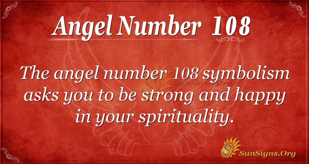 angel number 108