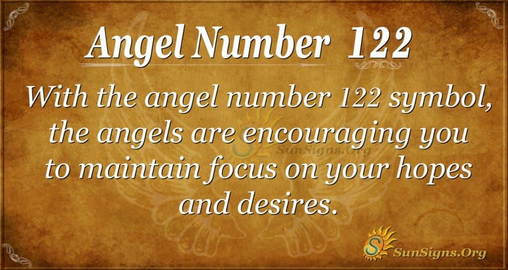 angel number 122