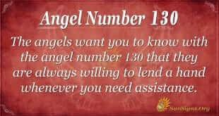 angel number 130