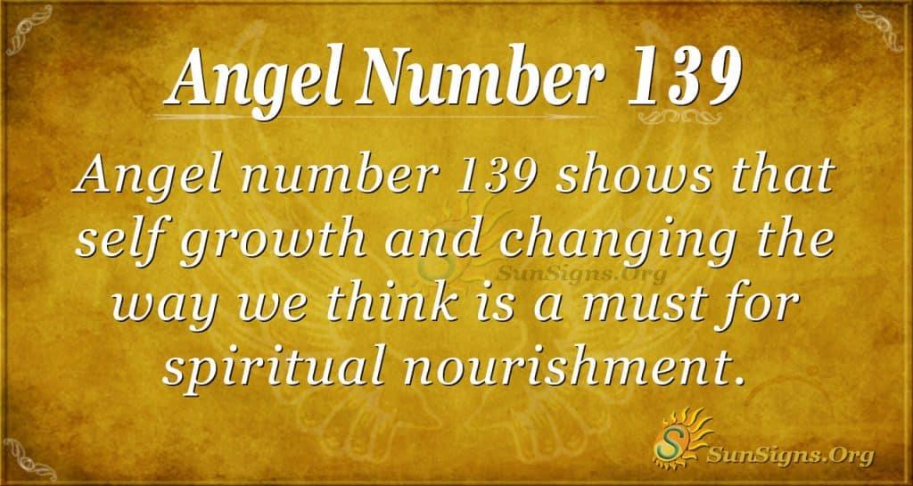 angel number 139