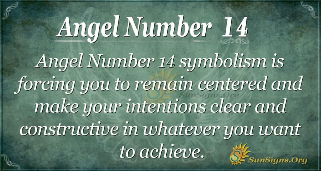 angel number 14