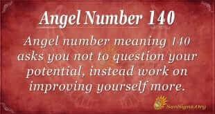 angel number 140