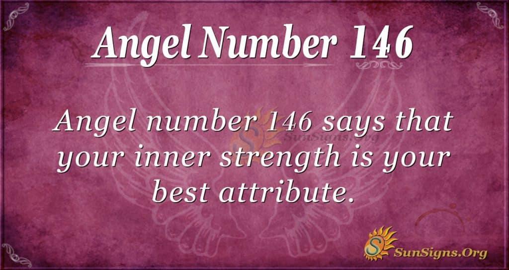 angel number 146