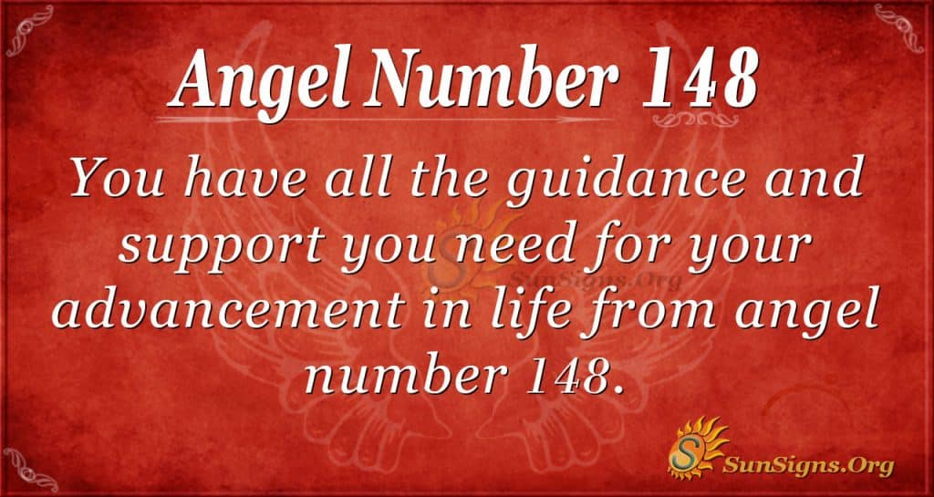 angel number 148