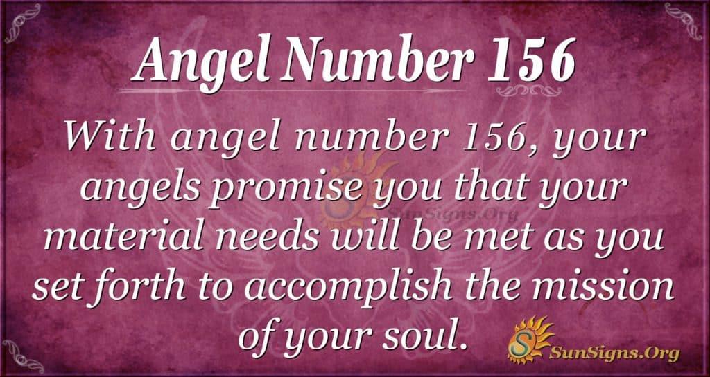 angel number 156