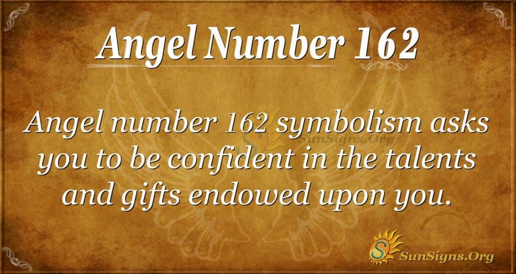 angel number 162
