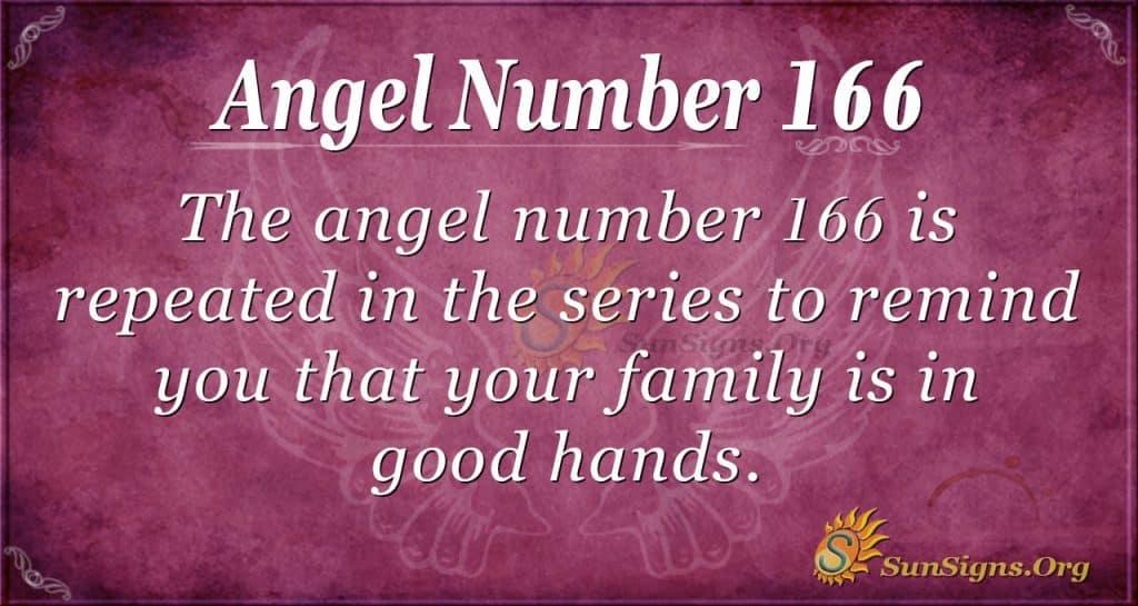 angel number 166