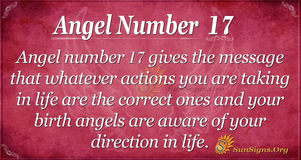 Angel Number 17 Meaning - Making The Right Decisions