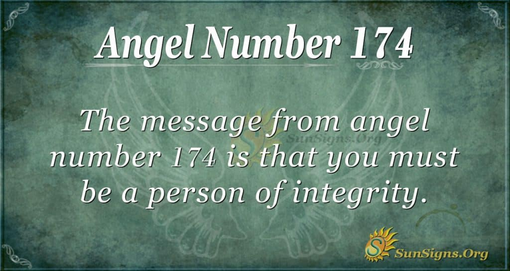 angel number 174