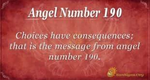 angel number 190