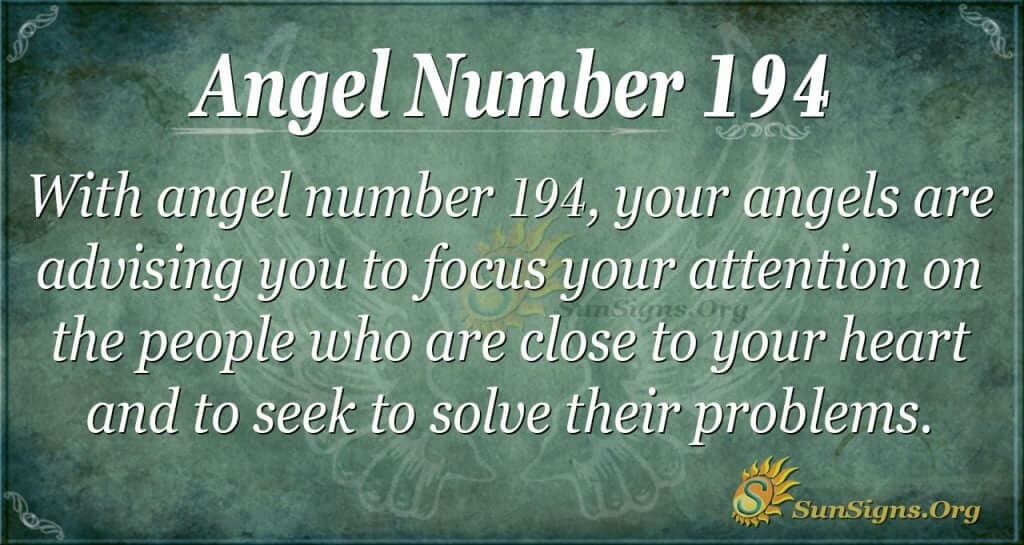 angel number 194