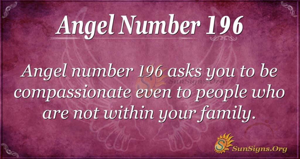 angel number 196