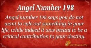 angel number 198