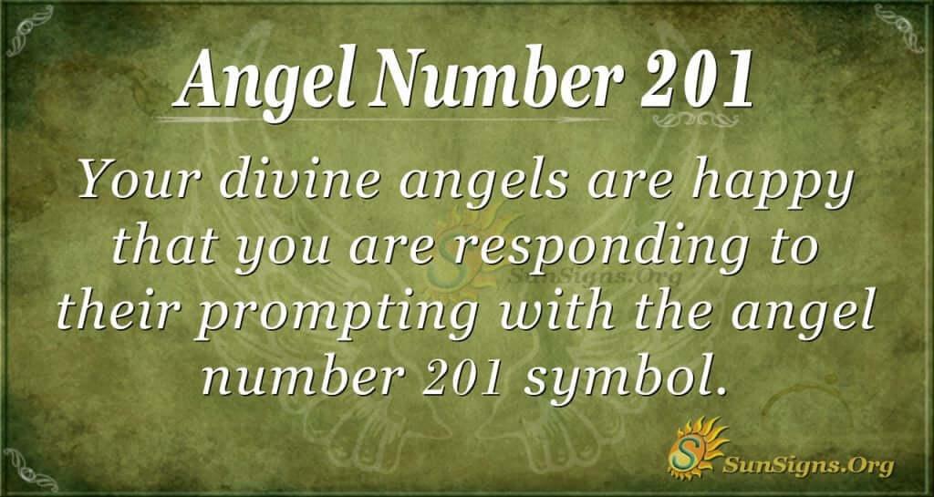 angel number 201