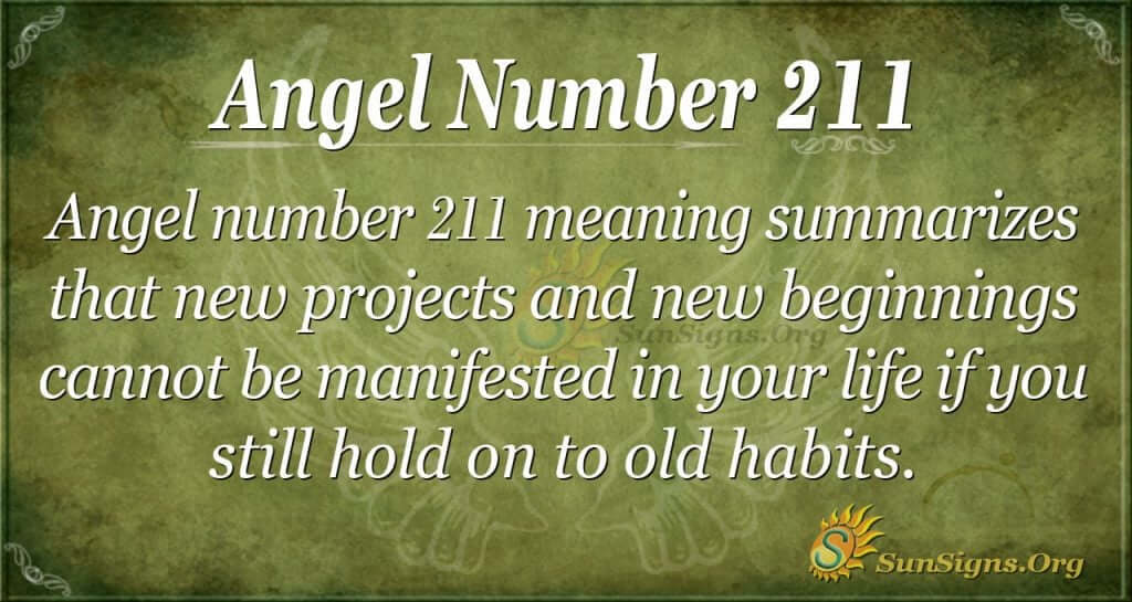 angel number 211